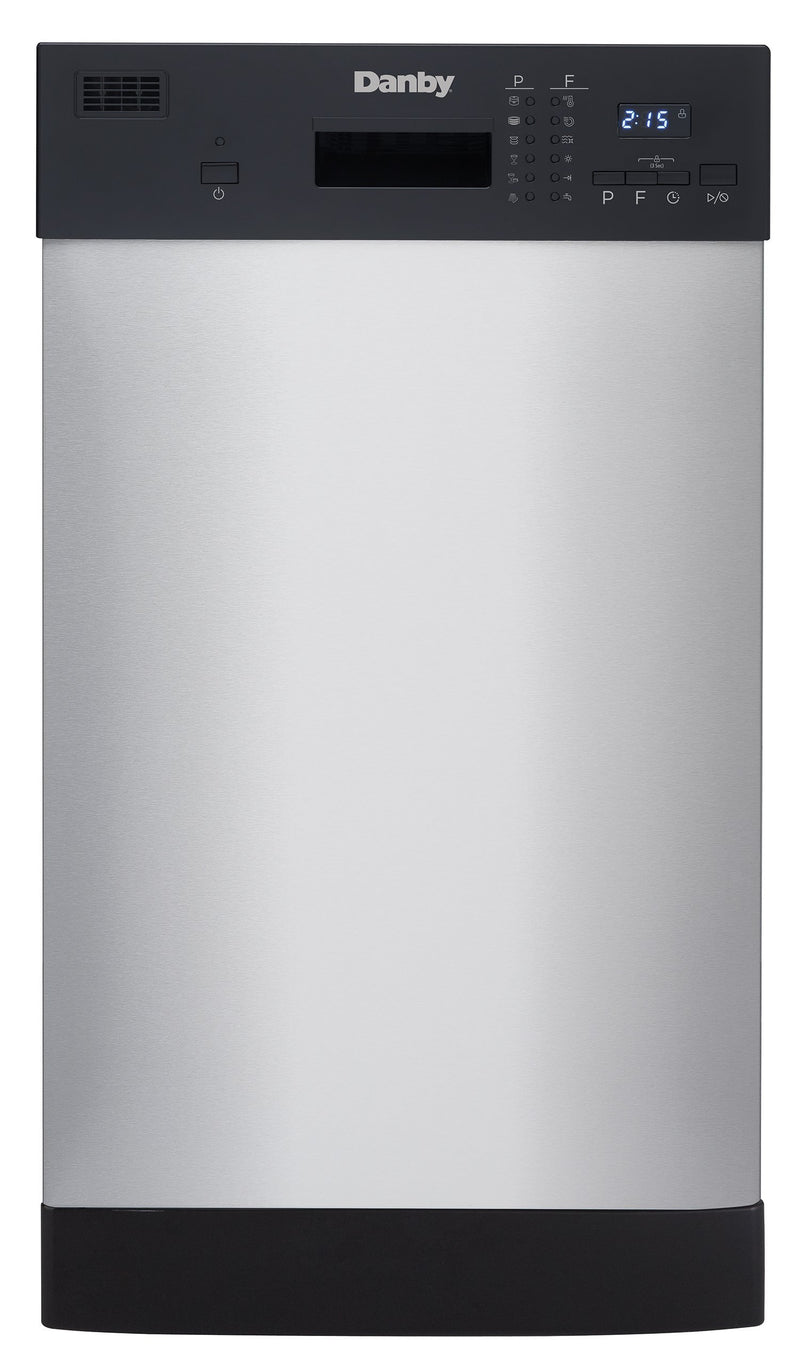 "Danby Stainless Steel 18"" Dishwasher - DDW1804EBSS"