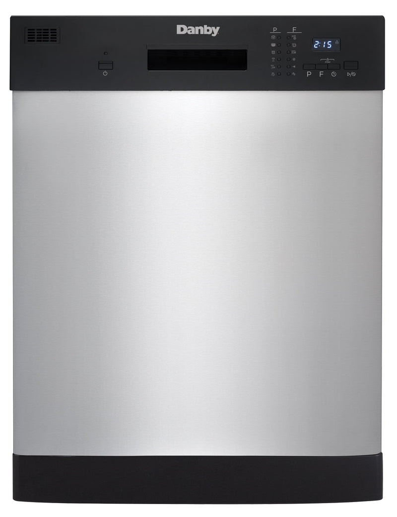 "Danby Stainless Steel 24"" Dishwasher - DDW2404EBSS"