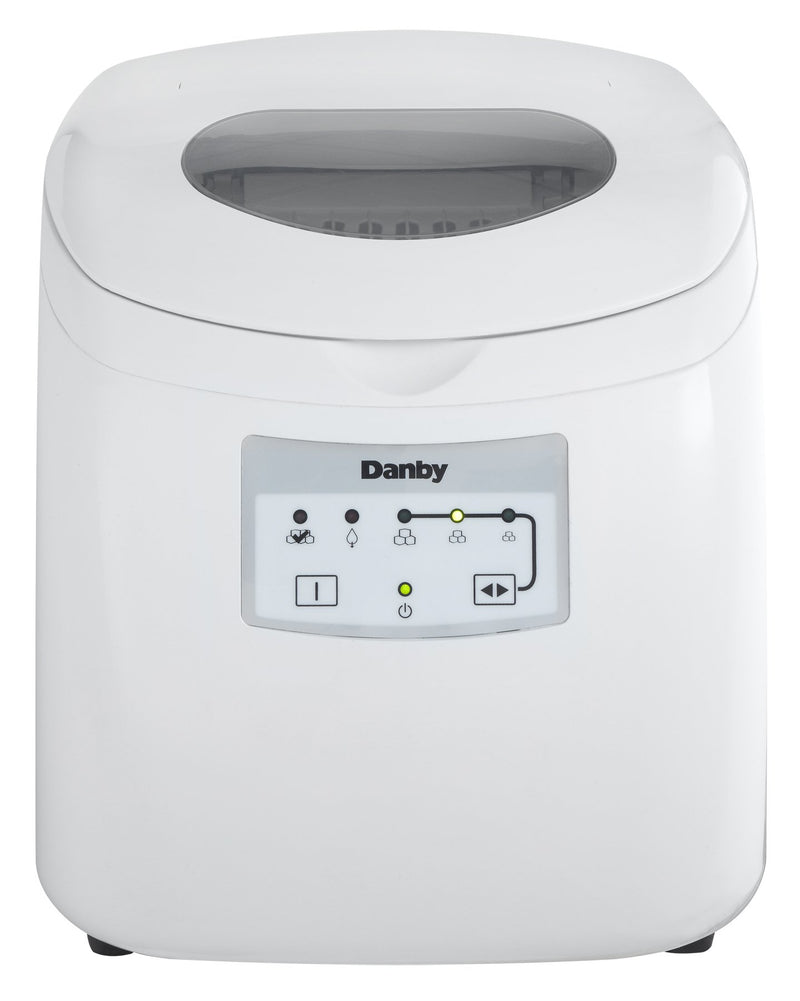 Danby White Ice Maker (25 lbs per day) - DIM2500WDB