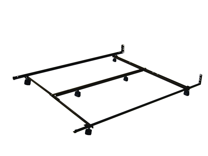 Low Profile Roller Full/Queen Bed Frame
