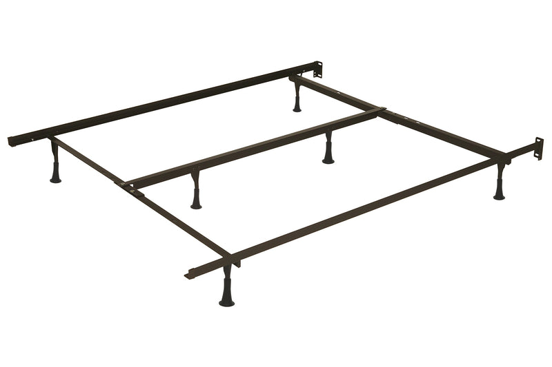 Deluxe Twin/Full/Queen Bed Frame with Feet