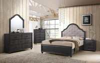 Spencer 6-Piece Queen Bedroom Set - Grey
