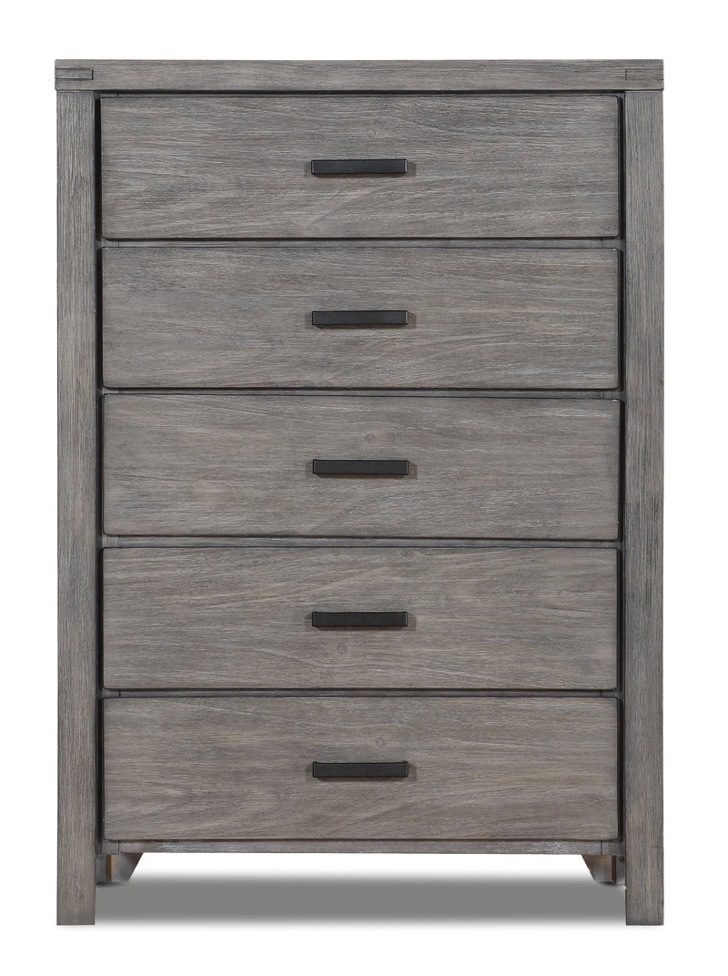 Copeland Chest - Wire-Brushed Grey