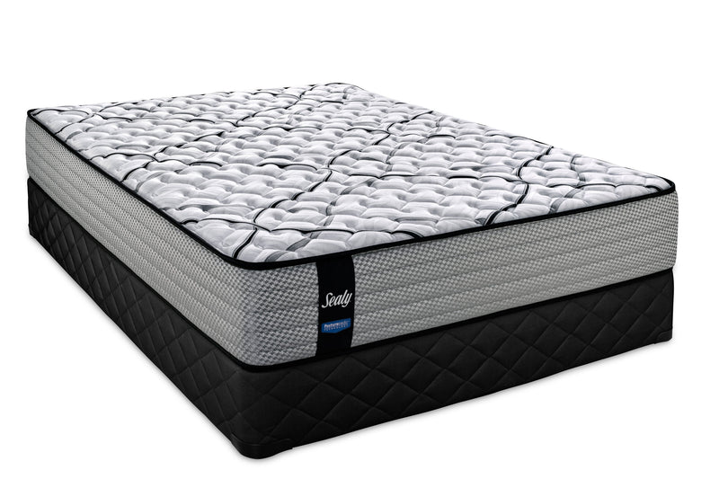 Sealy Finery Extra Firm King Mattress and Split Boxspring Set
