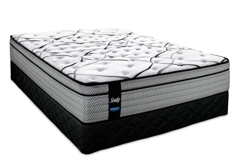 Sealy Sterling Firm Queen Mattress and Boxspring Set