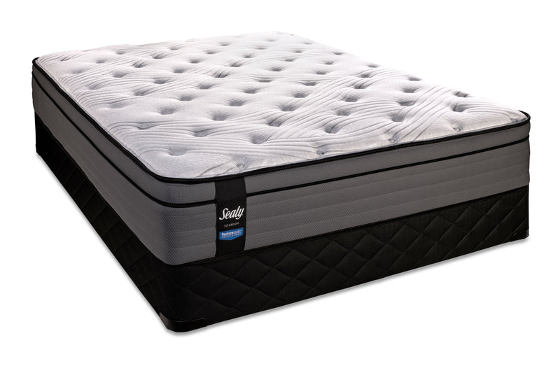 Sealy TI3 Firm Twin Mattress and Boxspring Set