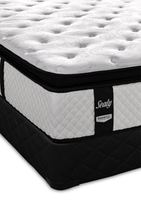Sealy Illuminating Plush Full Mattress and Boxspring Set