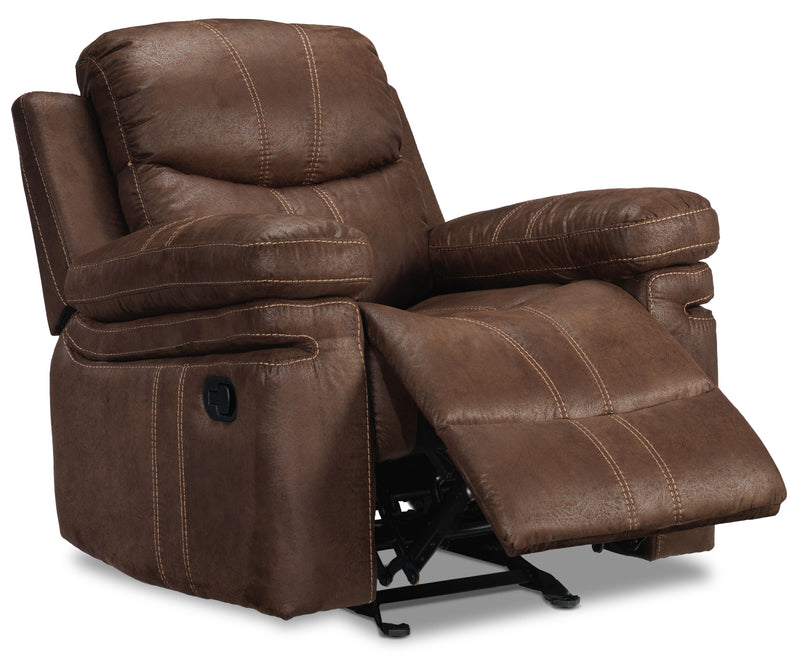 Marbella Rocker Recliner - Brown