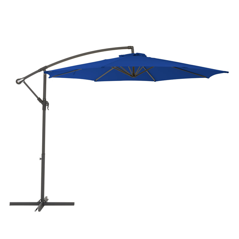 Maris Offset Umbrella - Cobalt Blue