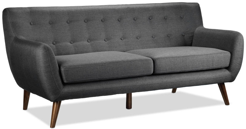Heather Sofa   Dark Grey
