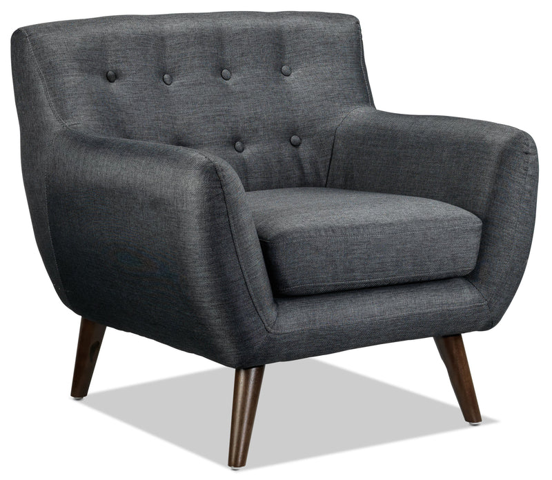 Heather Chair - Dark Grey