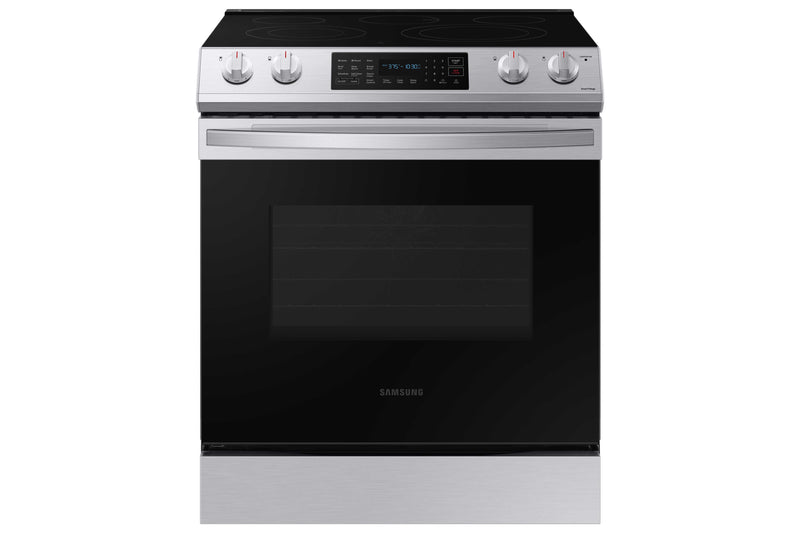 Samsung Stainless Steel Electric Range with Fan Convection (6.3 Cu.Ft) - NE63T8311SS/AC