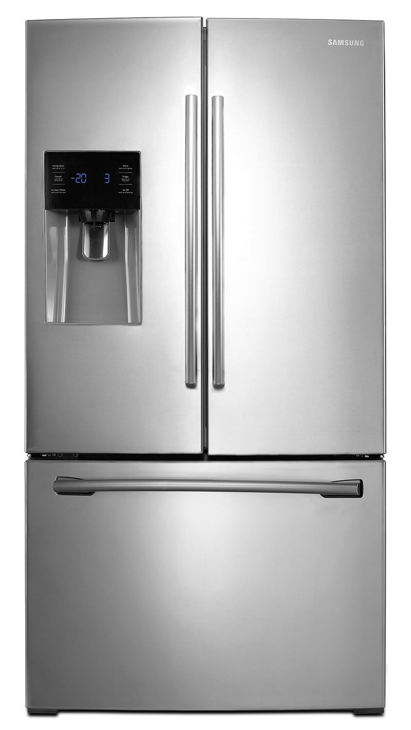 Samsung Stainless Steel French Door Refrigerator (24.6 Cu. Ft.) - RF263BEAESR