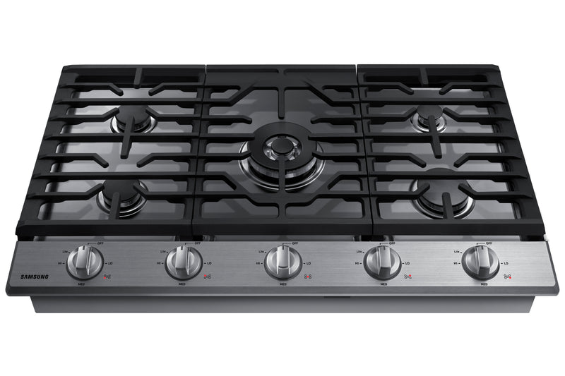"Samsung Stainless Steel 30"" Gas Cooktop - NA30N6555TS/AA"