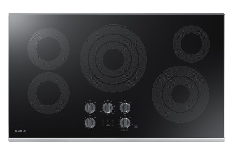 "Samsung Stainless Steel Electric Cooktop (36"") - NZ36K6430RS/AA"