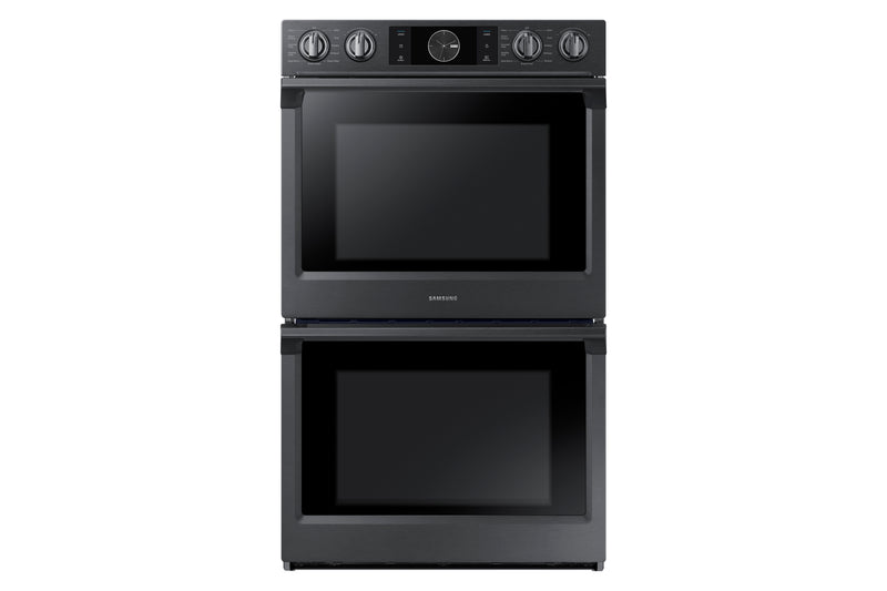 "Samsung Black Stainless Steel 30"" Double Wall Oven - NV51K7770DG/AA"