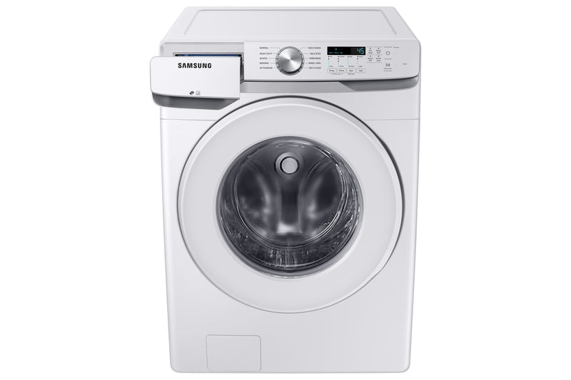 Samsung White Front Load Washer with Shallow Depth (5.2 Cu.Ft) - WF45T6000AW/A5