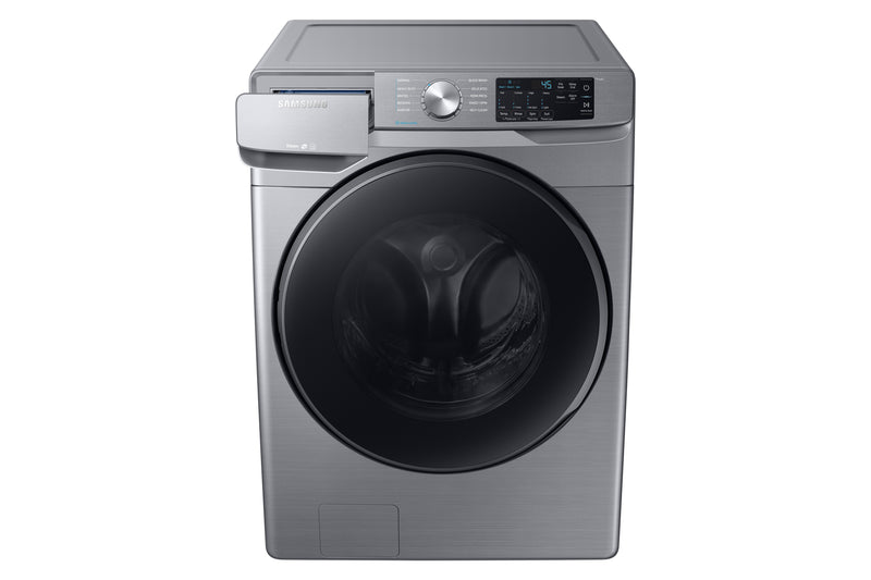 Samsung Stainless Platinum Steam Front Load Washer (5.2 Cu. Ft.) - WF45R6100AP/US