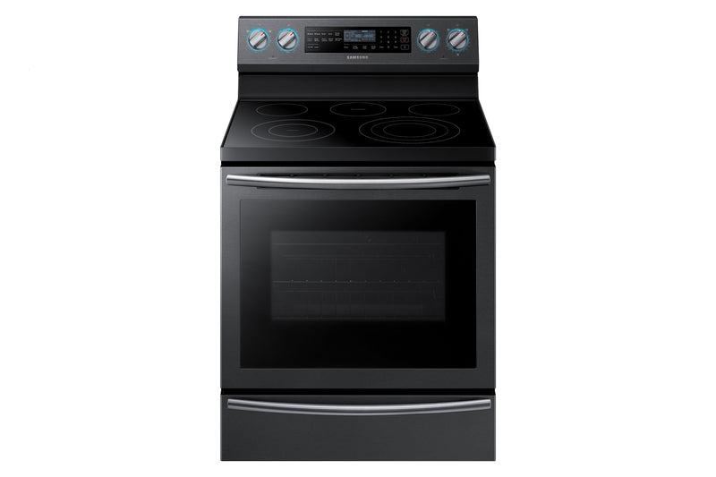 Samsung Black Stainless Steel Freestanding Electric Range (5.9 cu.ft.) - NE59N6650WG/AC