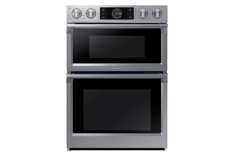 "Samsung Stainless Steel 30"" Wall Oven (5.1 Cu. Ft.) with Microwave (1.9 Cu. Ft.)- NQ70M7770DS/AA"