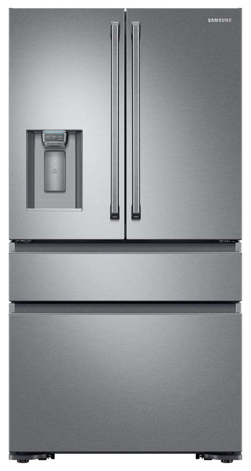 Samsung Stainless Steel Counter-Depth French Door Refrigerator (23 Cu. Ft.) - RF23M8090SR/AA