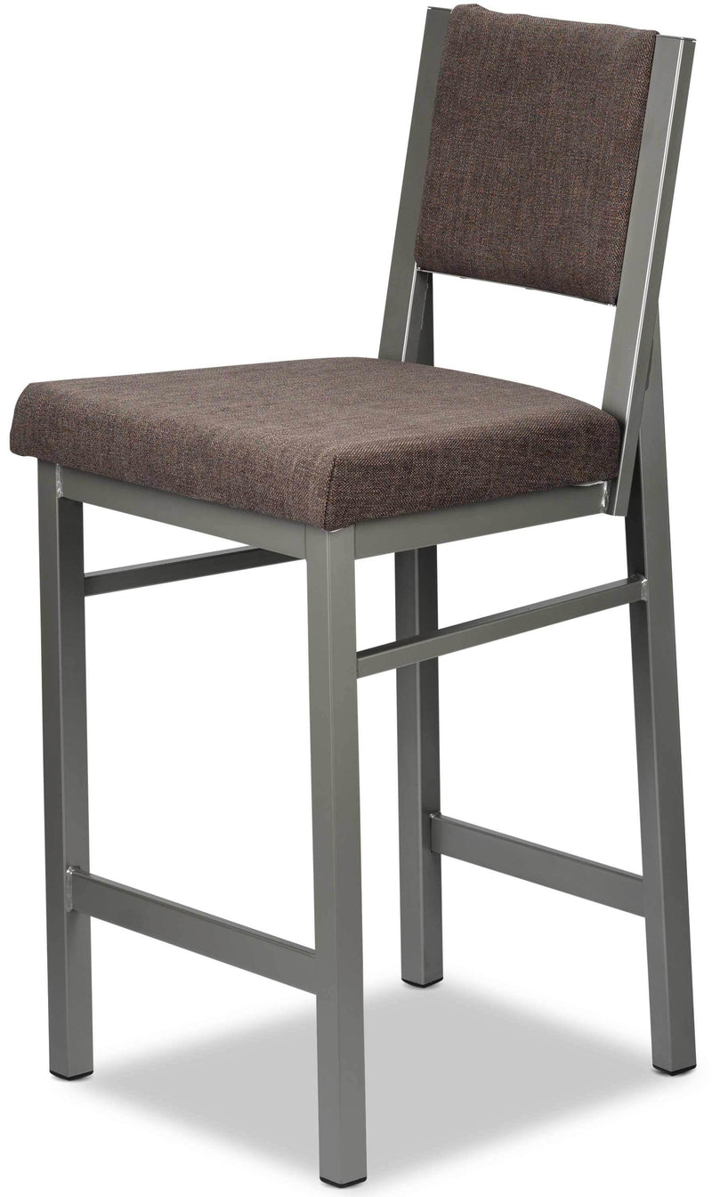 Park Non-Swivel Counter-Height Bar Stool - Walnut
