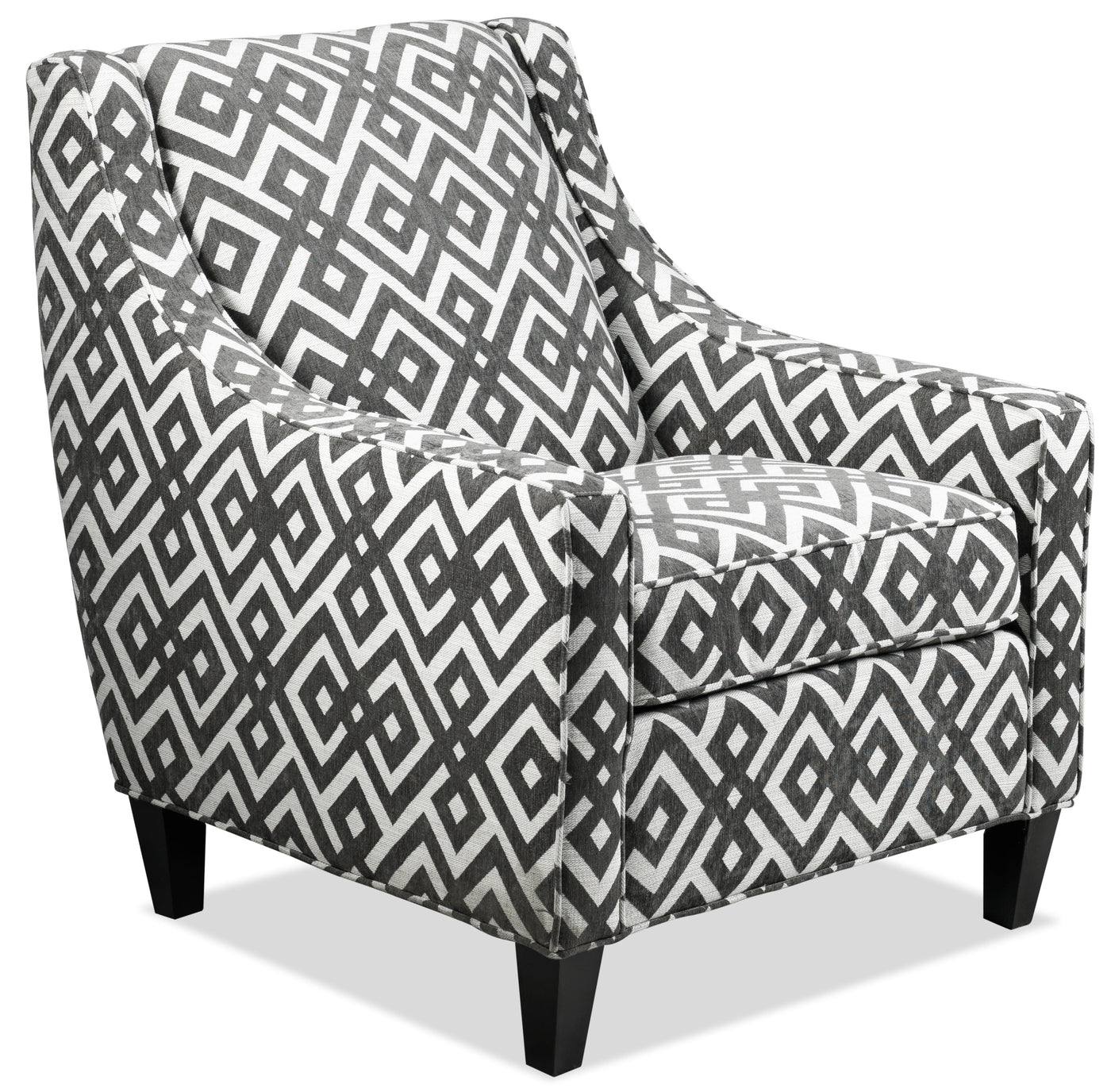 Accent Chairs.Kelsie Accent Chair Gunmetal Leon S