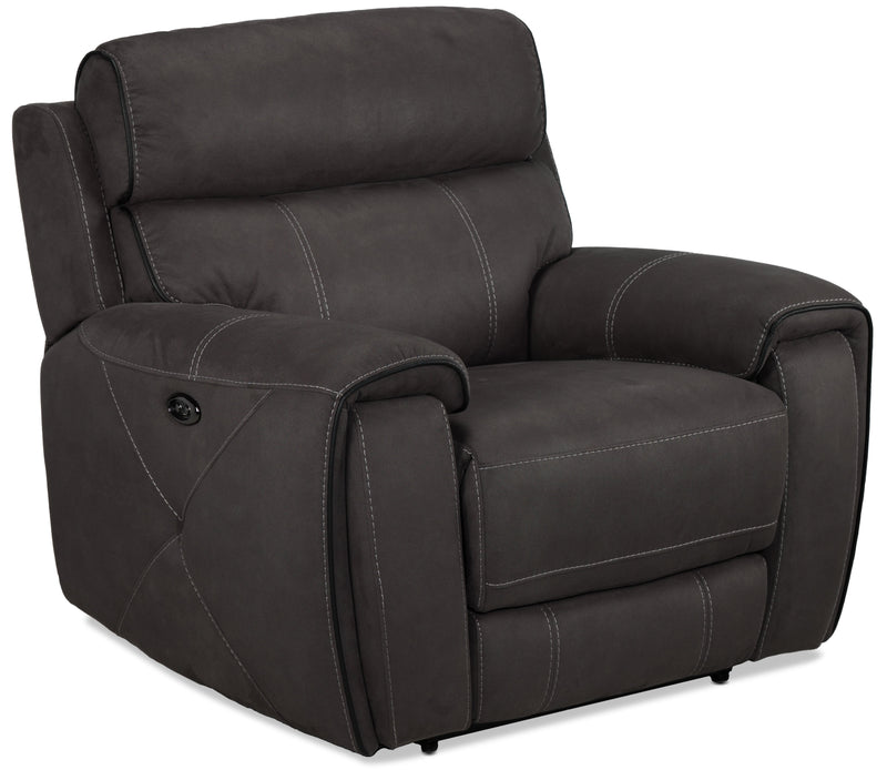 Martin Power Recliner - Dark grey