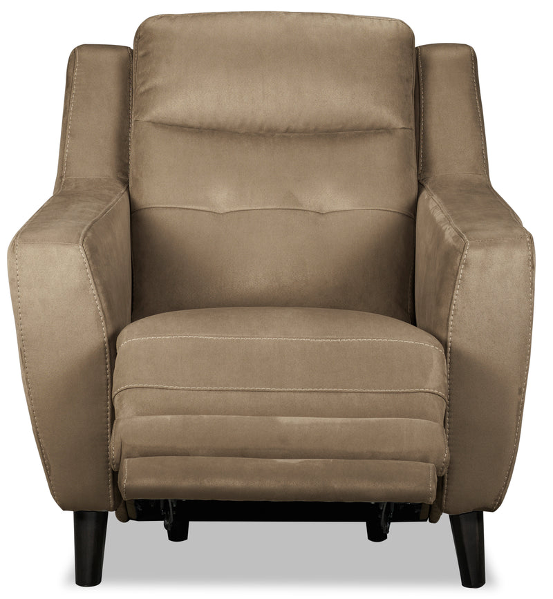Lucas Power Recliner - Taupe