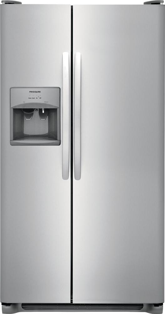 Frigidaire Stainless Steel Side-by-Side Refrigerator (22.1 Cu. Ft.) - FFSS2315TS