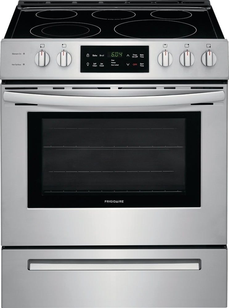 Frigidaire Stainless Steel Slide-In Electric Range (5.0 Cu. Ft.) - CFEH3054US