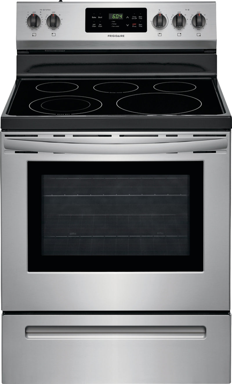 Frigidaire Stainless Steel Freestanding Electric Range (5.3 Cu. Ft.) - CFEF3054US