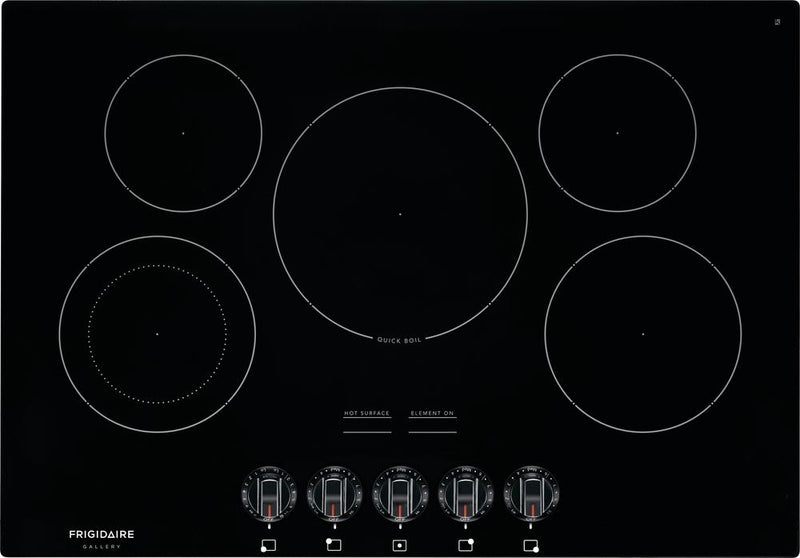 "Frigidaire Gallery Black 30"" Electric Cooktop - FGEC3068UB"