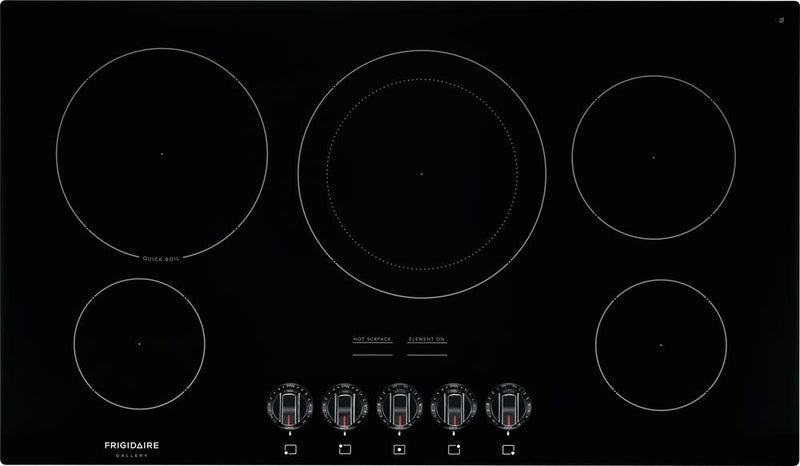 "Frigidaire Gallery Black 36"" Electric Cooktop - FGEC3648UB"