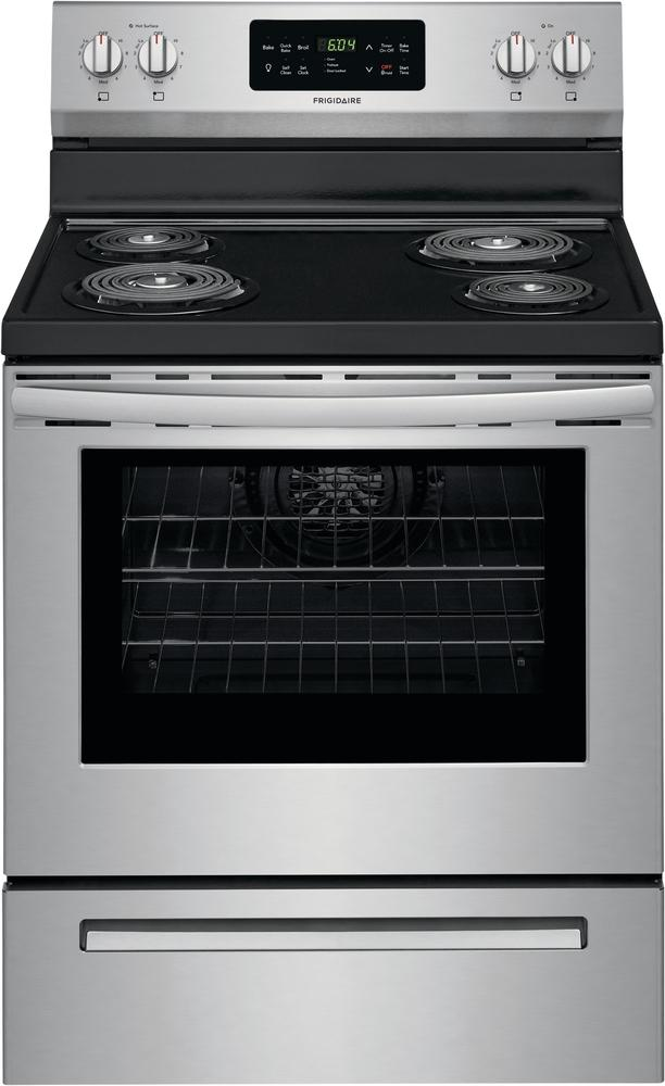 Frigidaire Stainless Steel Freestanding Electric Range (5.4 Cu. Ft.) - CFEF3017US