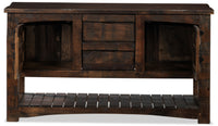 Mezcal Sofa Table - Walnut