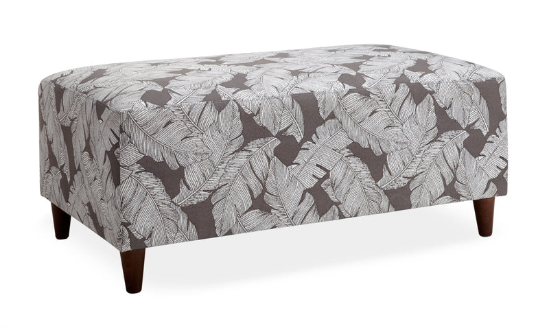 Cassis Outdoor Ottoman - Grey