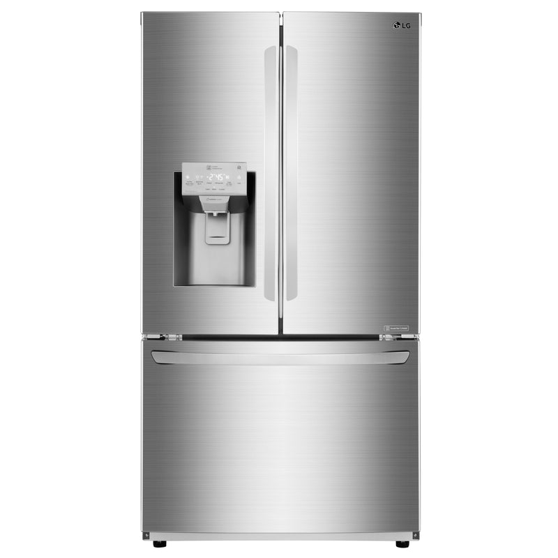 "LG 36"" Counter-Depth 22 cu.ft. WiFi Enabled Smudge Resistant Stainless Steel French Door RefrigeratoR- LFXC22526S"