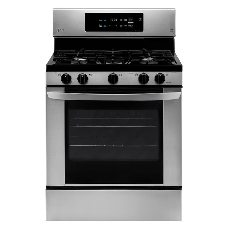 LG Appliances Stainless Steel Gas Range (5.4 Cu. Ft.) - LRG3060ST