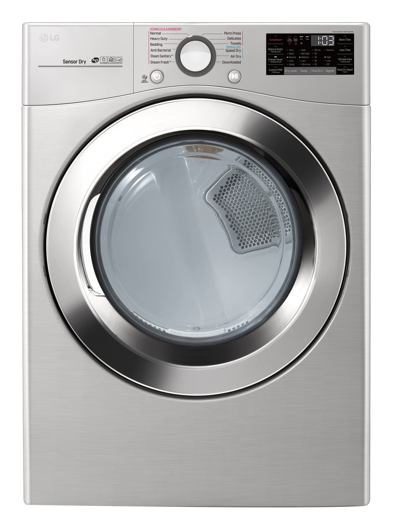 LG Appliances Graphite Steel Steam Dryer (7.4 Cu. Ft.) - DLEX3700V