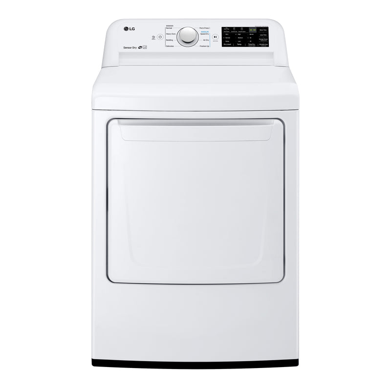 LG Appliances White Electric Dryer (7.3 Cu. Ft) - DLE7100W