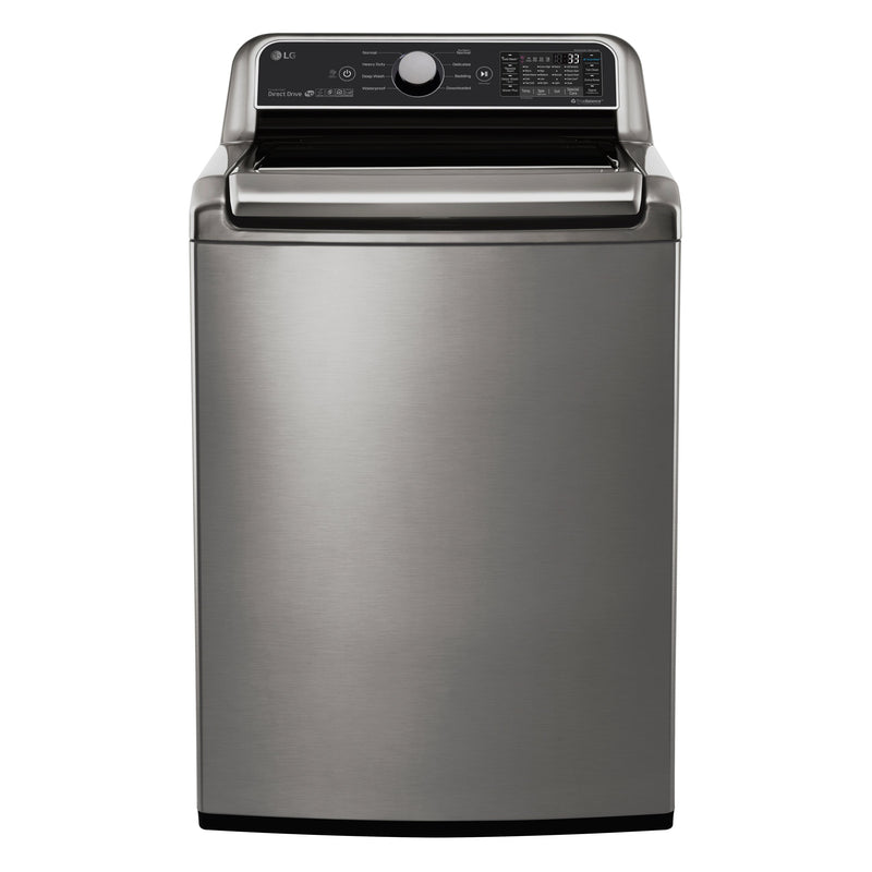 LG Appliances Stainless Steel Top-Load Washer (5.8 Cu. Ft.) - WT7300CV