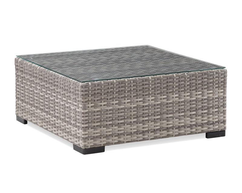 Caribe Outdoor Coffee Table - Grey