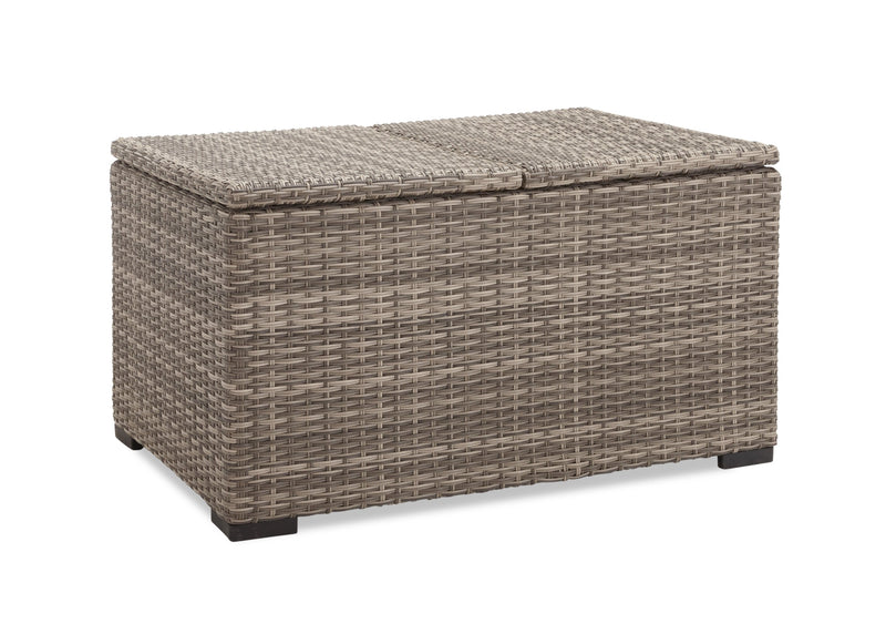 Le Mans Outdoor Lift-Top Coffee Table - Grey