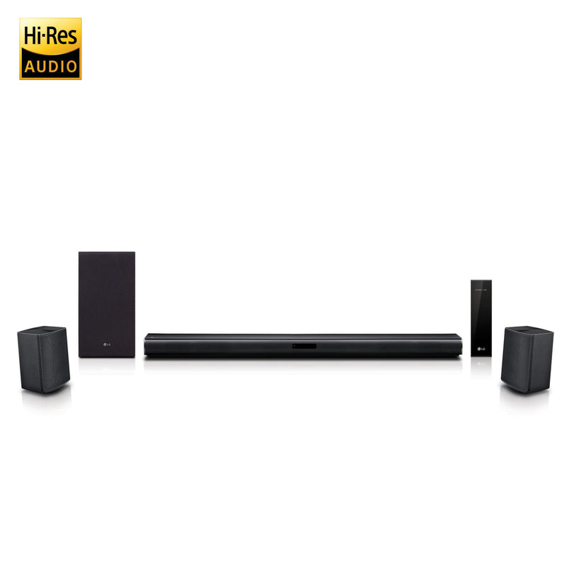 LG 4.1 ch Sound Bar Surround System with Wireless Surround Sound Speakers - SJ4R