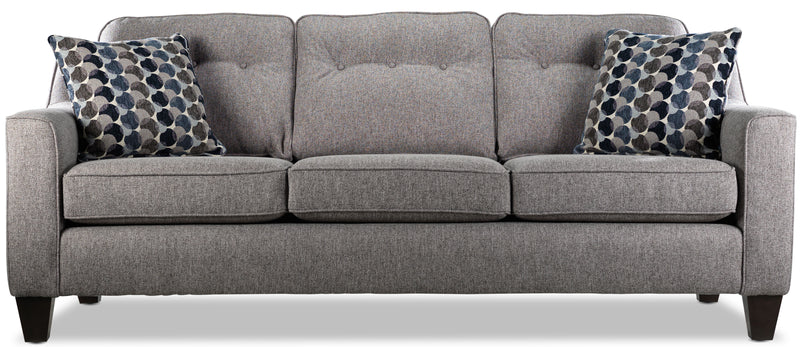 Rockford Sofa and Chair Set - Grey