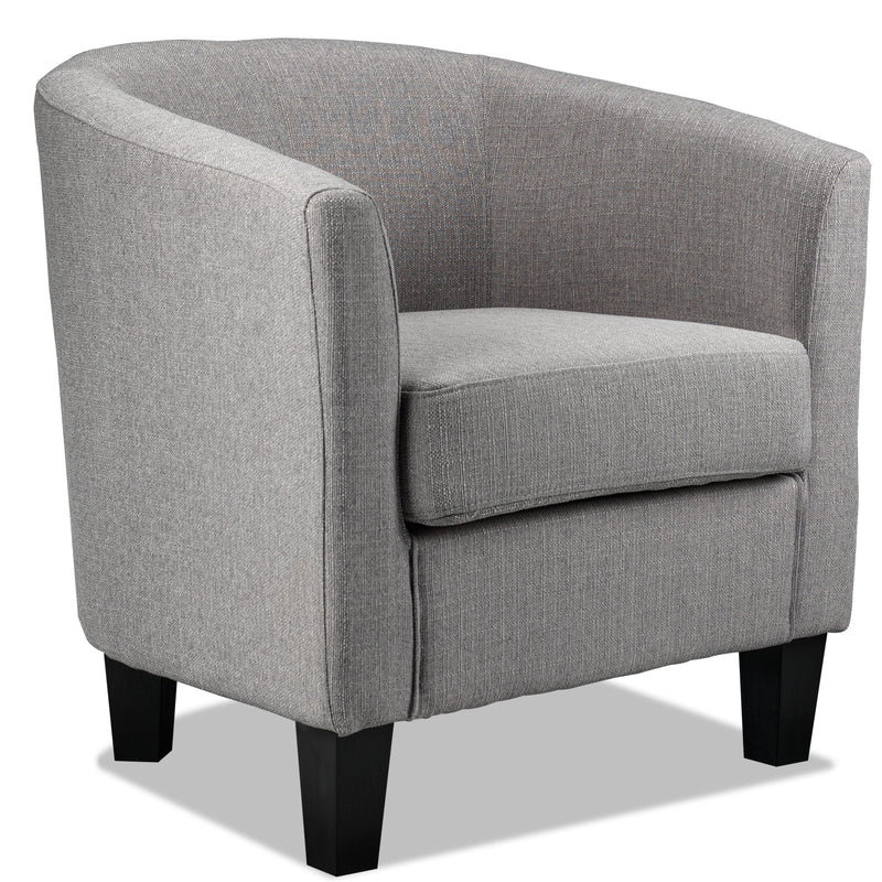 Enzo Tub Chair - Grey