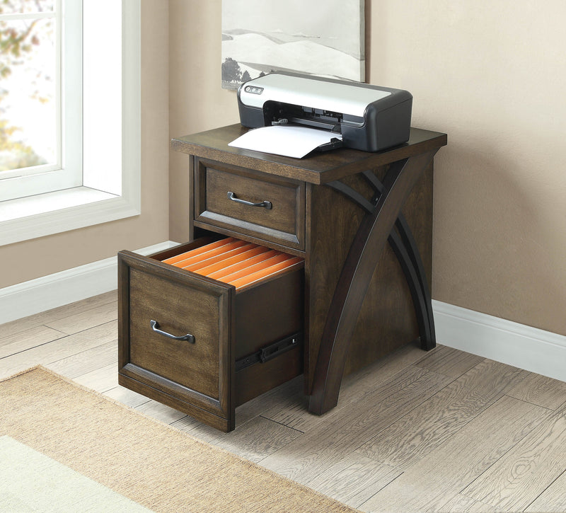 Axon Filing Cabinet - Brown