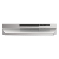 "Broan Stainless Steel 24"" 160 CFM Under-the-Cabinet Range Hood - BU224SS"