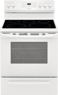 Frigidaire White Freestanding Electric Range (5.3 Cu. Ft.) - CFEF3054UW